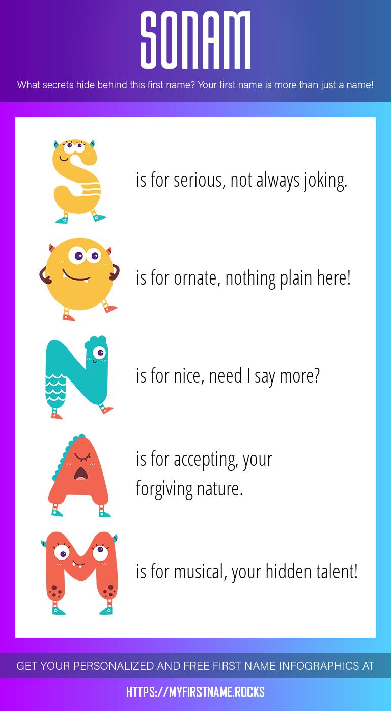 Sonam Infographics