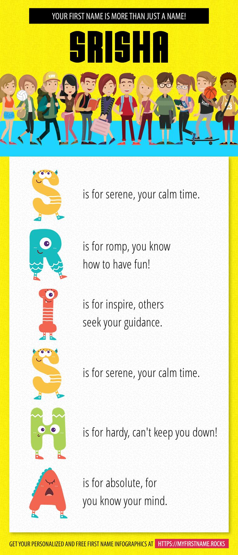 Srisha Infographics