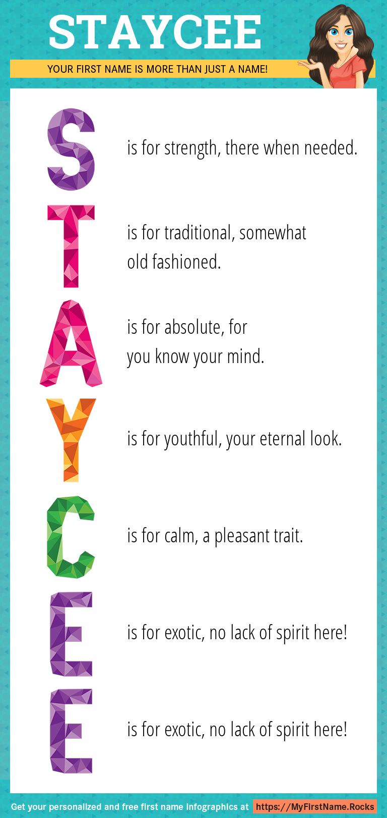 Staycee Infographics