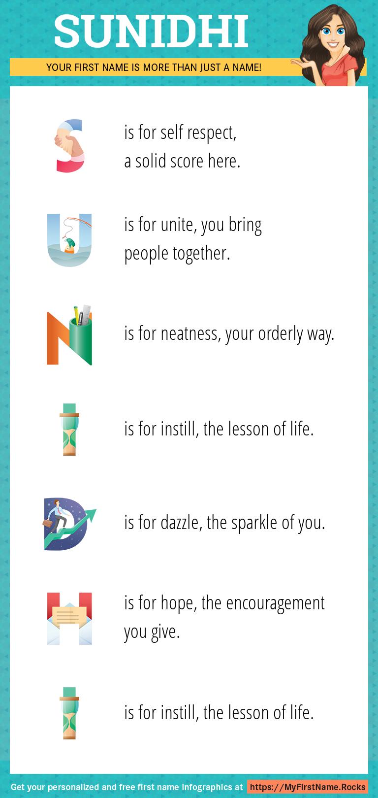 Sunidhi Infographics