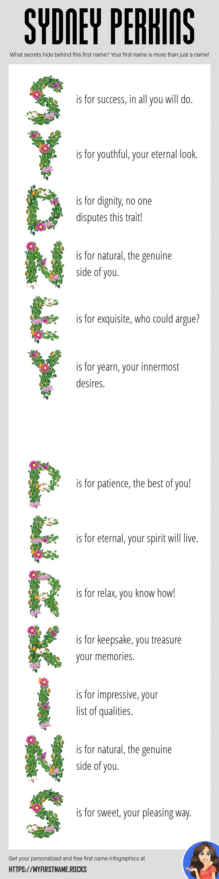 Sydney Perkins Infographics