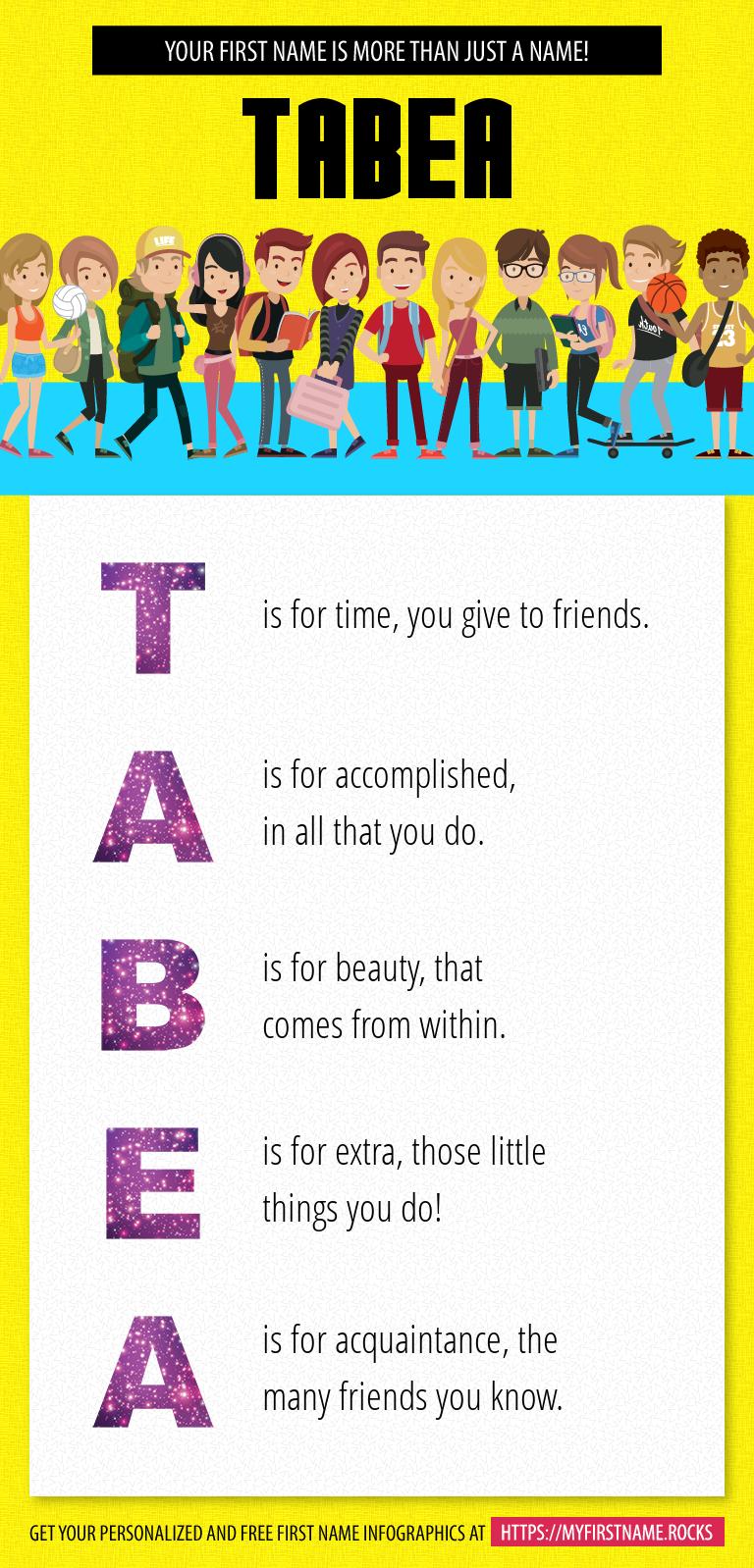 Tabea Infographics