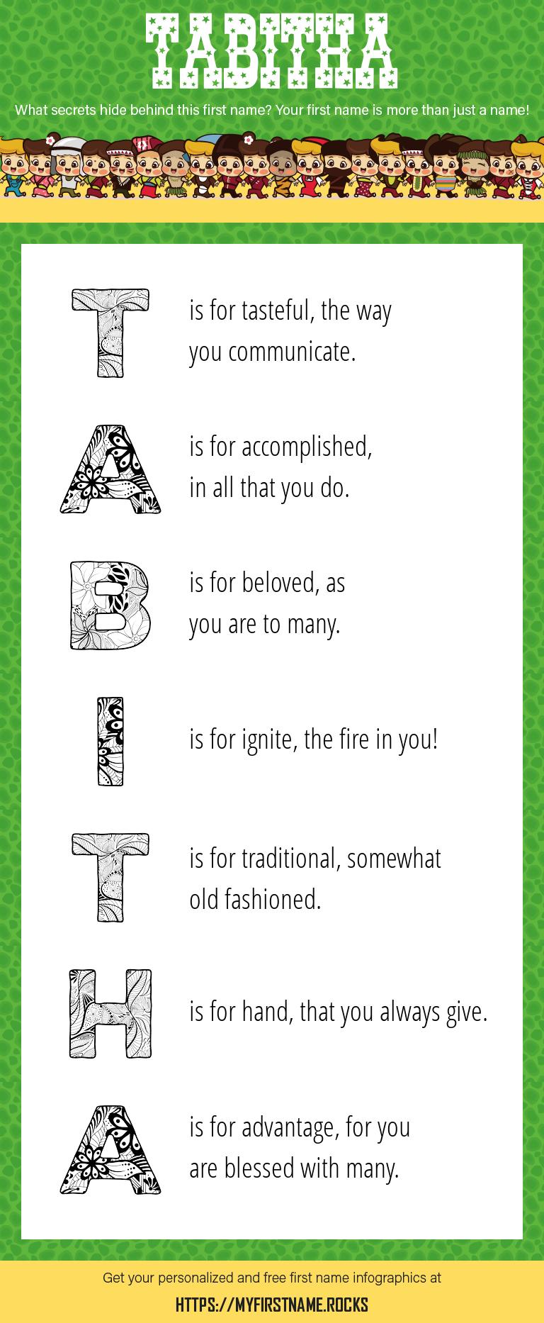 Tabitha Infographics