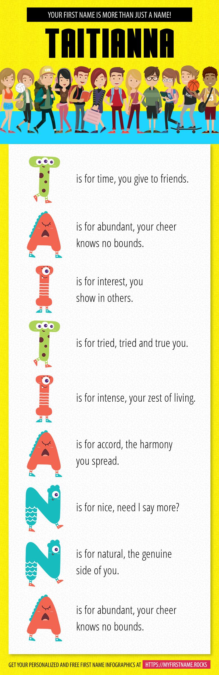 Taitianna Infographics