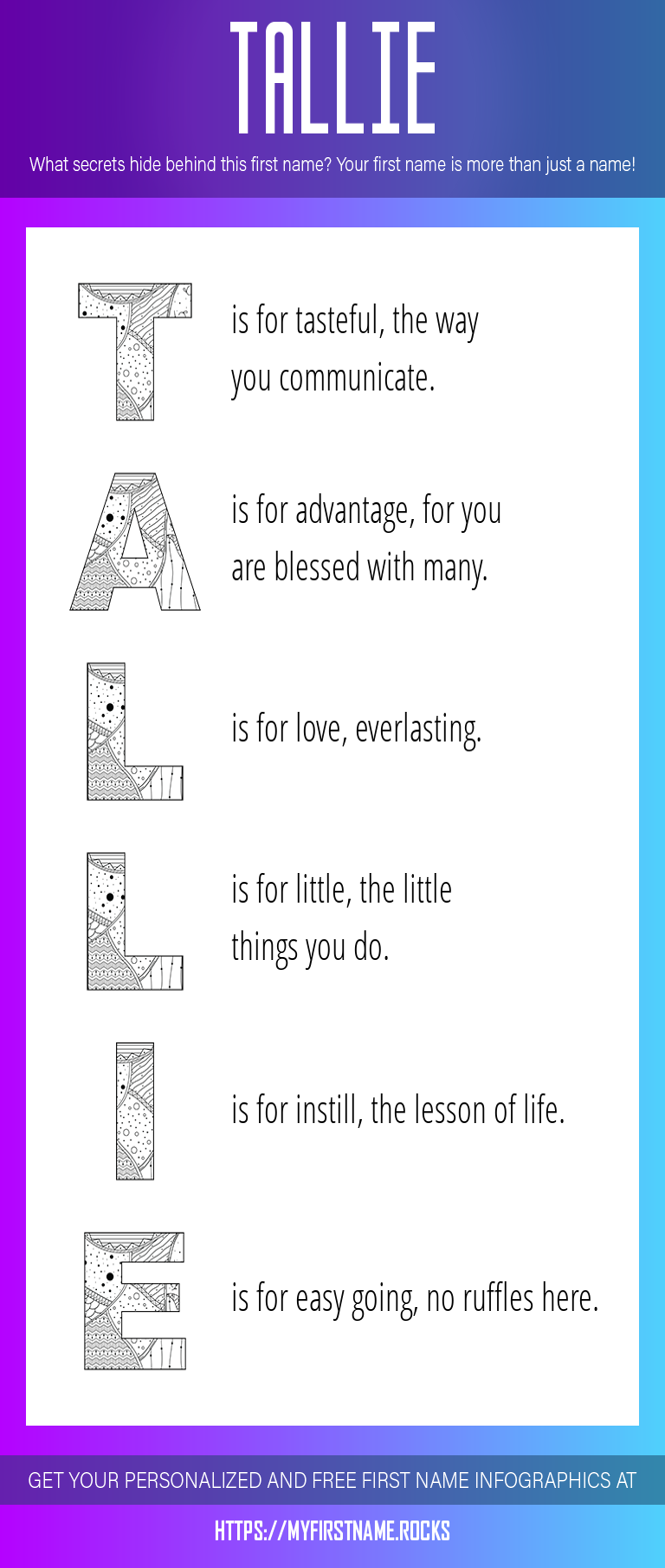 Tallie Infographics