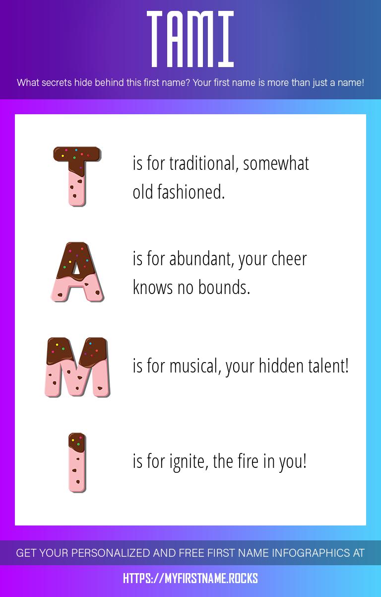 Tami Infographics