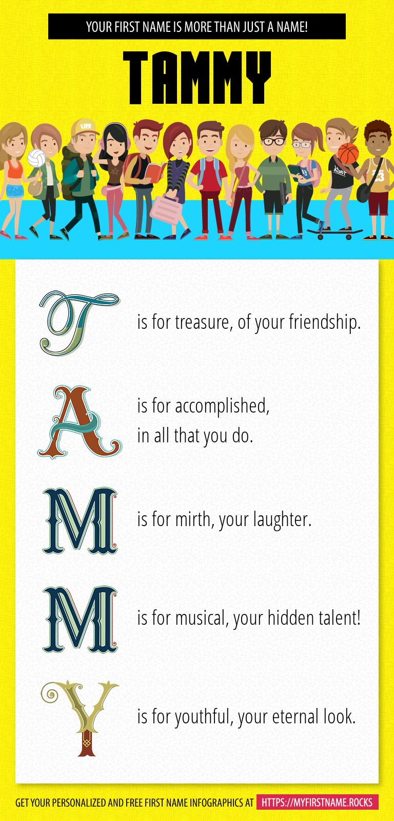 Tammy Infographics