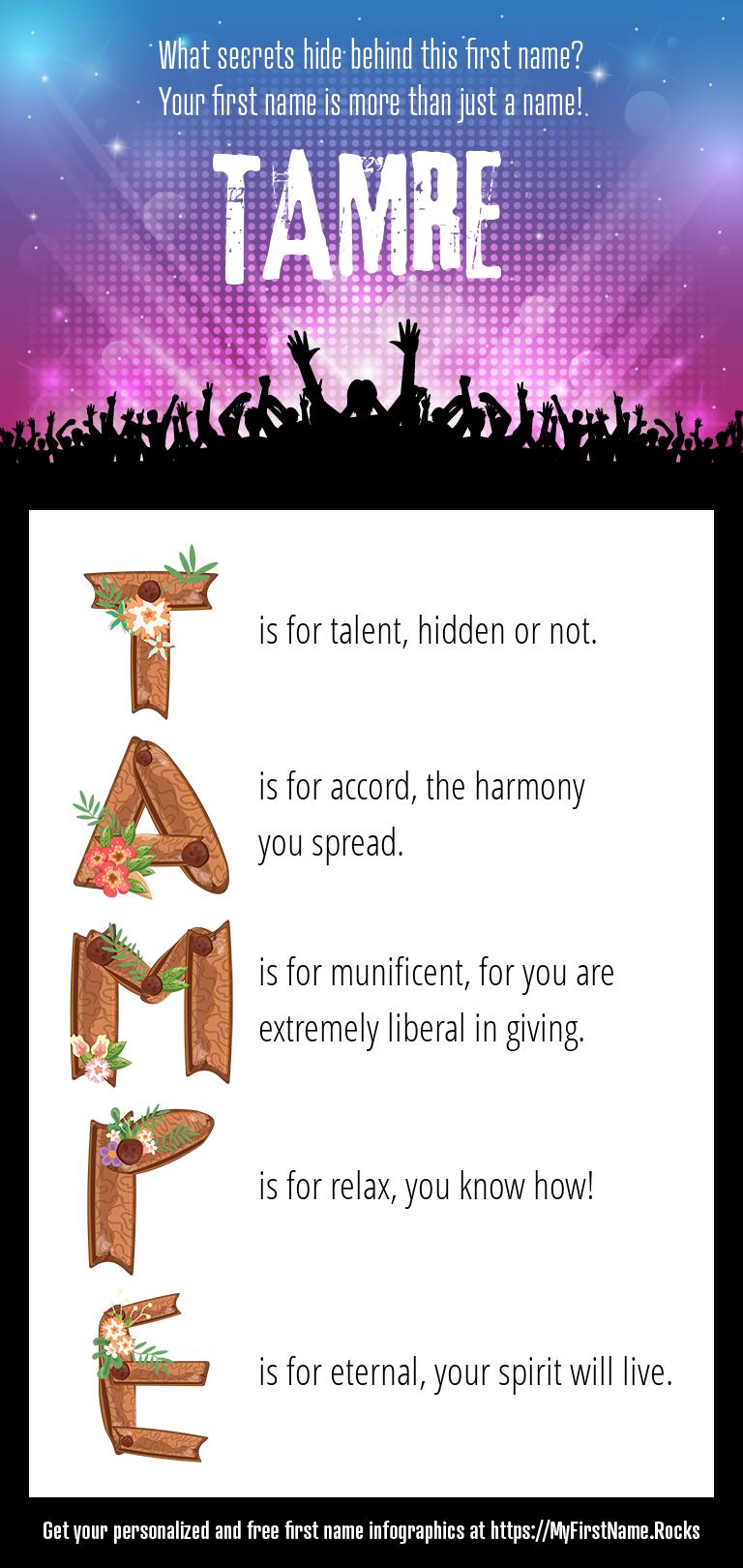 Tamre Infographics