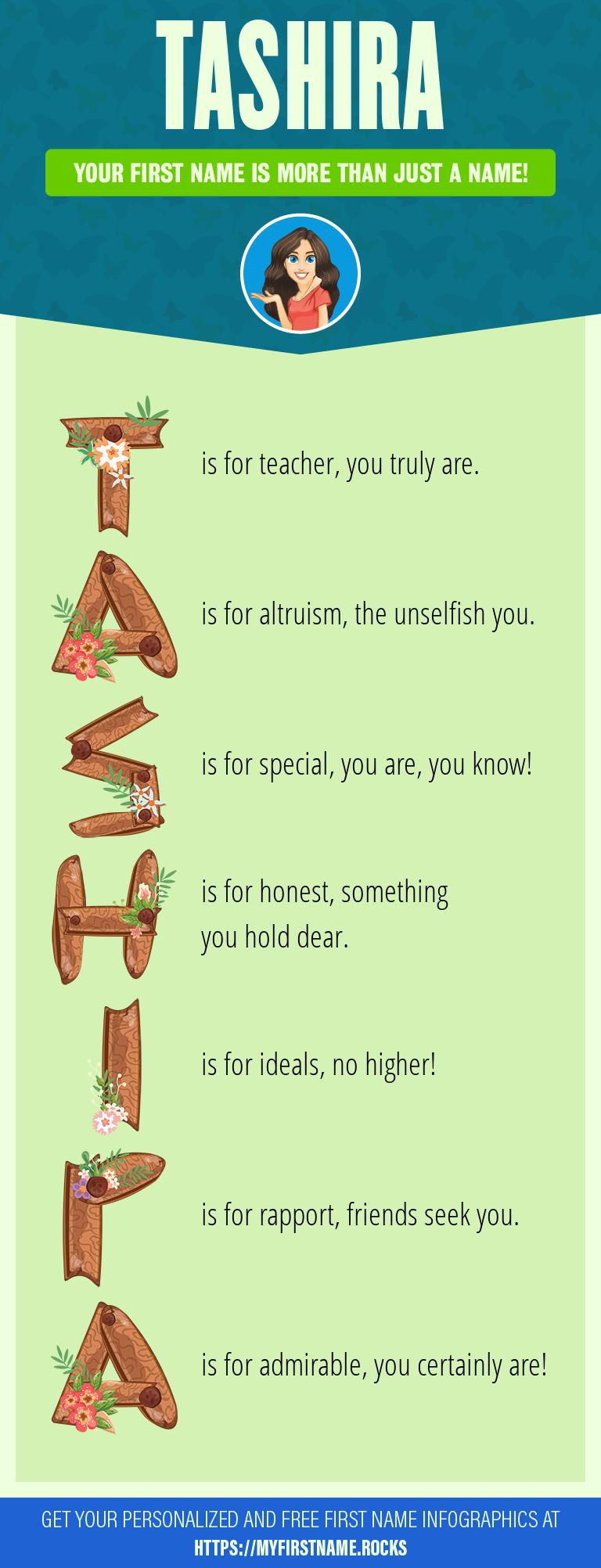 Tashira Infographics