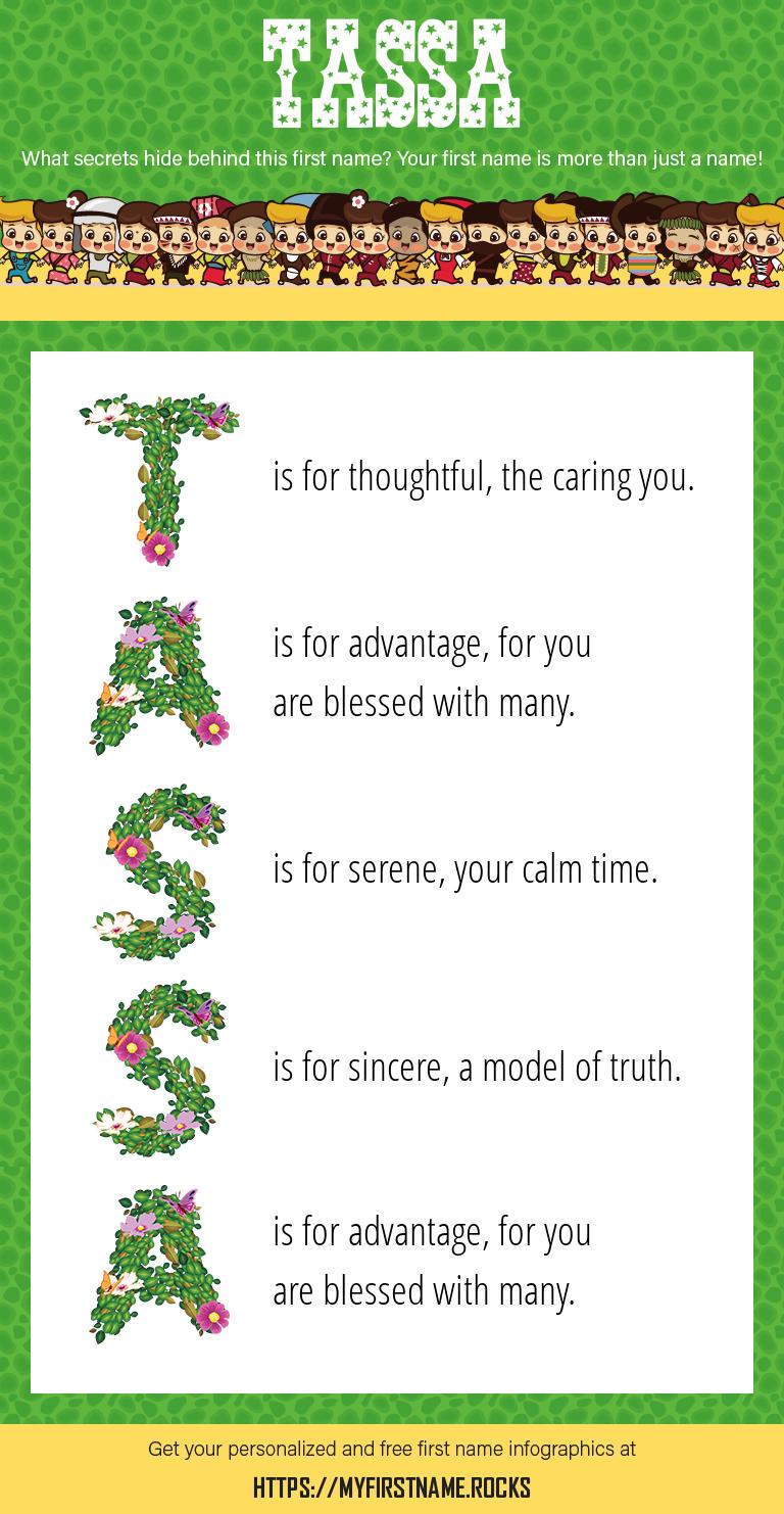 Tassa Infographics