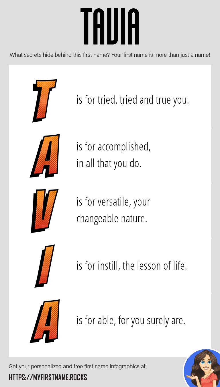 Tavia Infographics