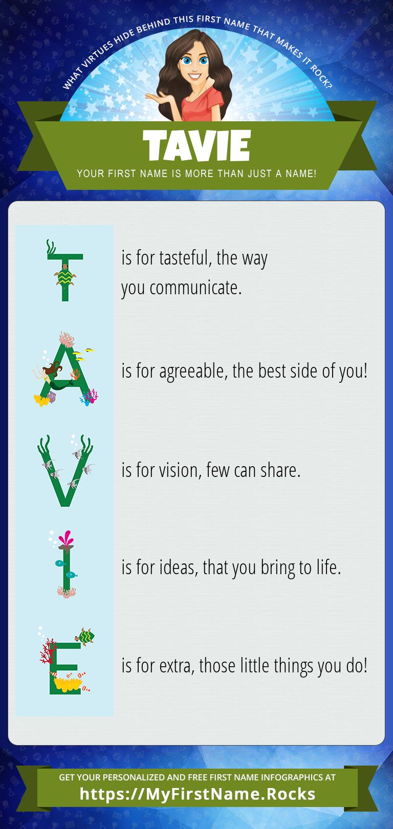 Tavie Infographics