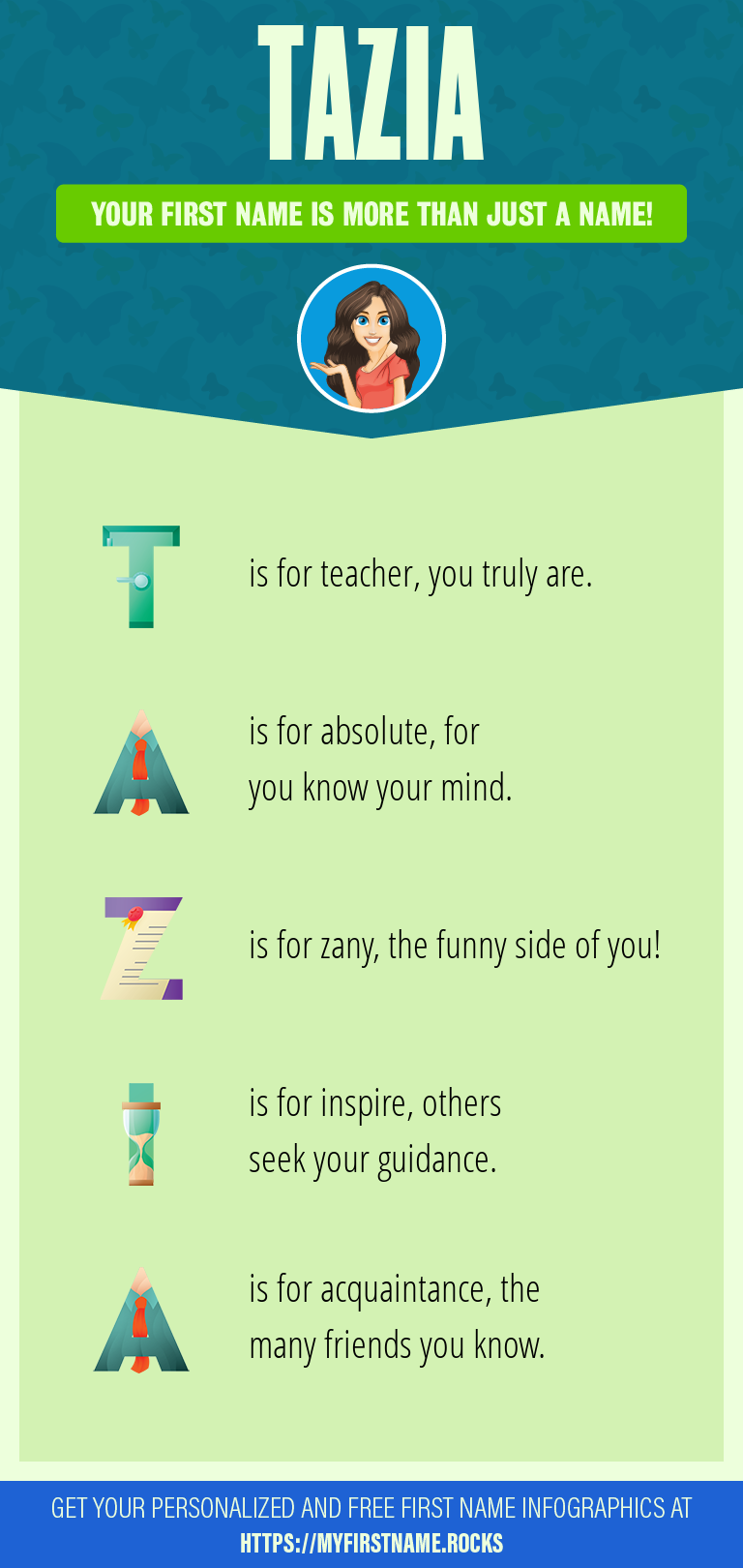 Tazia Infographics