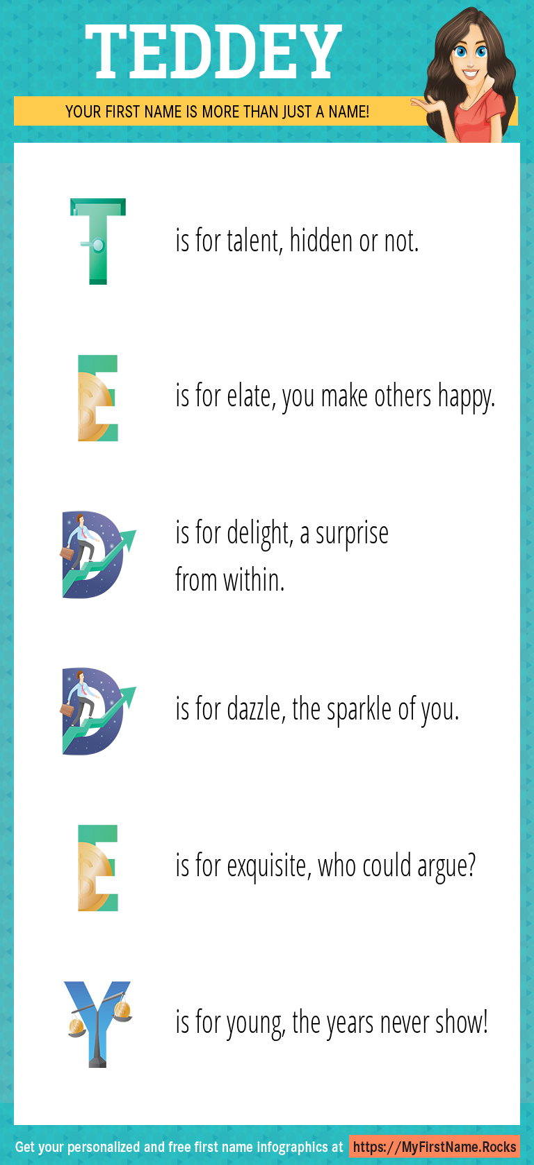 Teddey Infographics