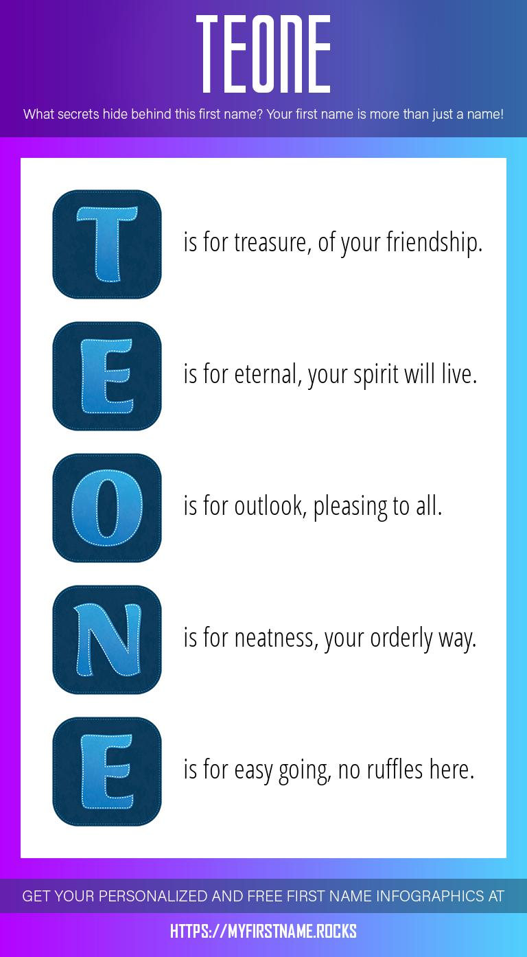 Teone Infographics