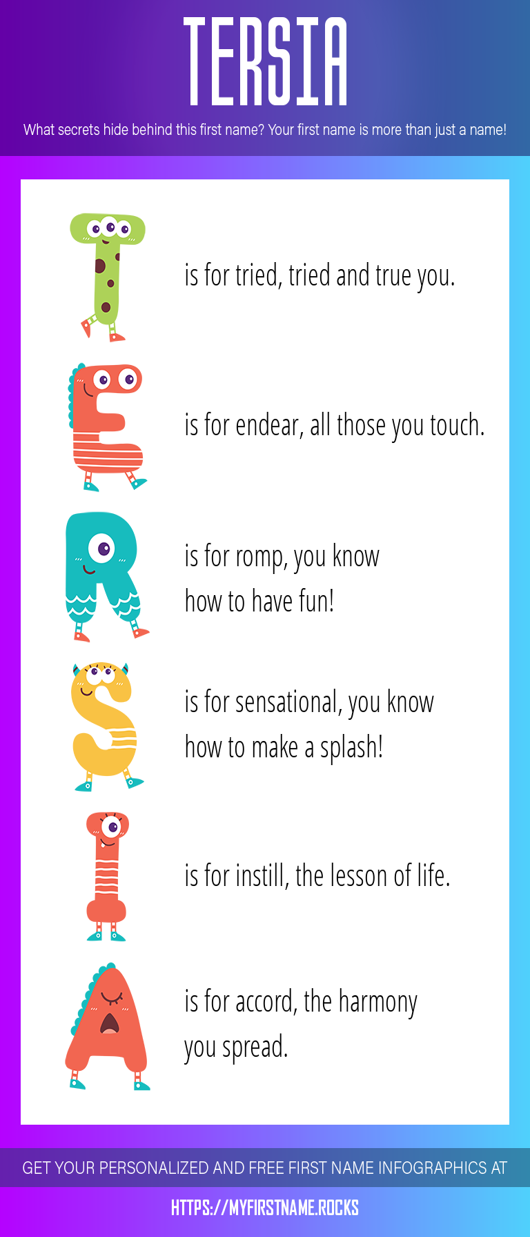 Tersia Infographics