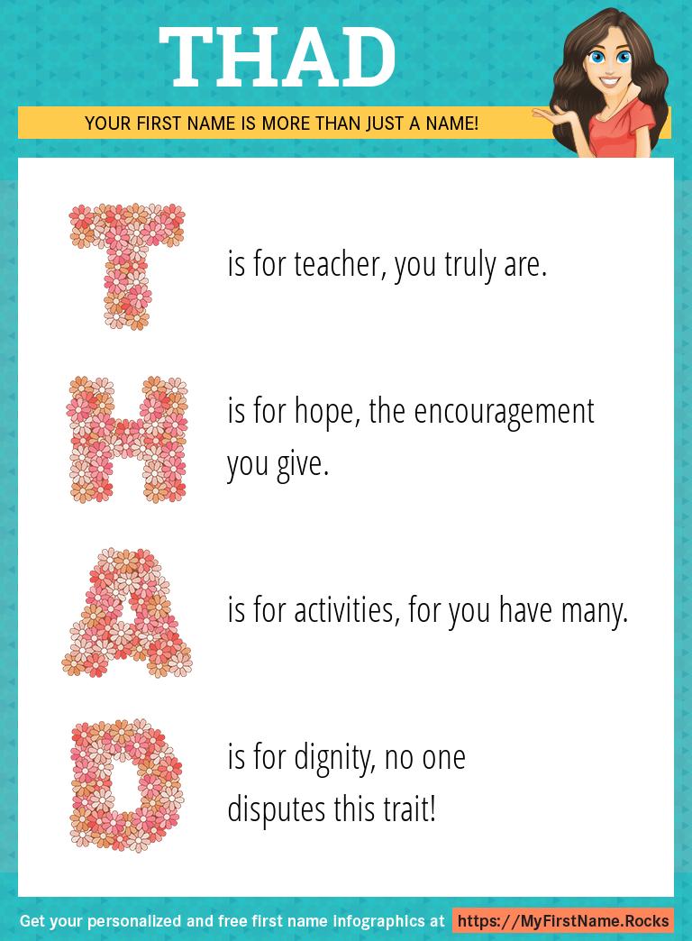 Thad Infographics