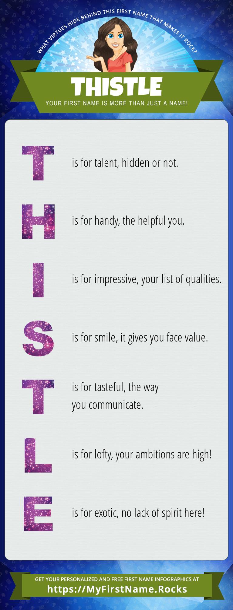 Thistle Infographics
