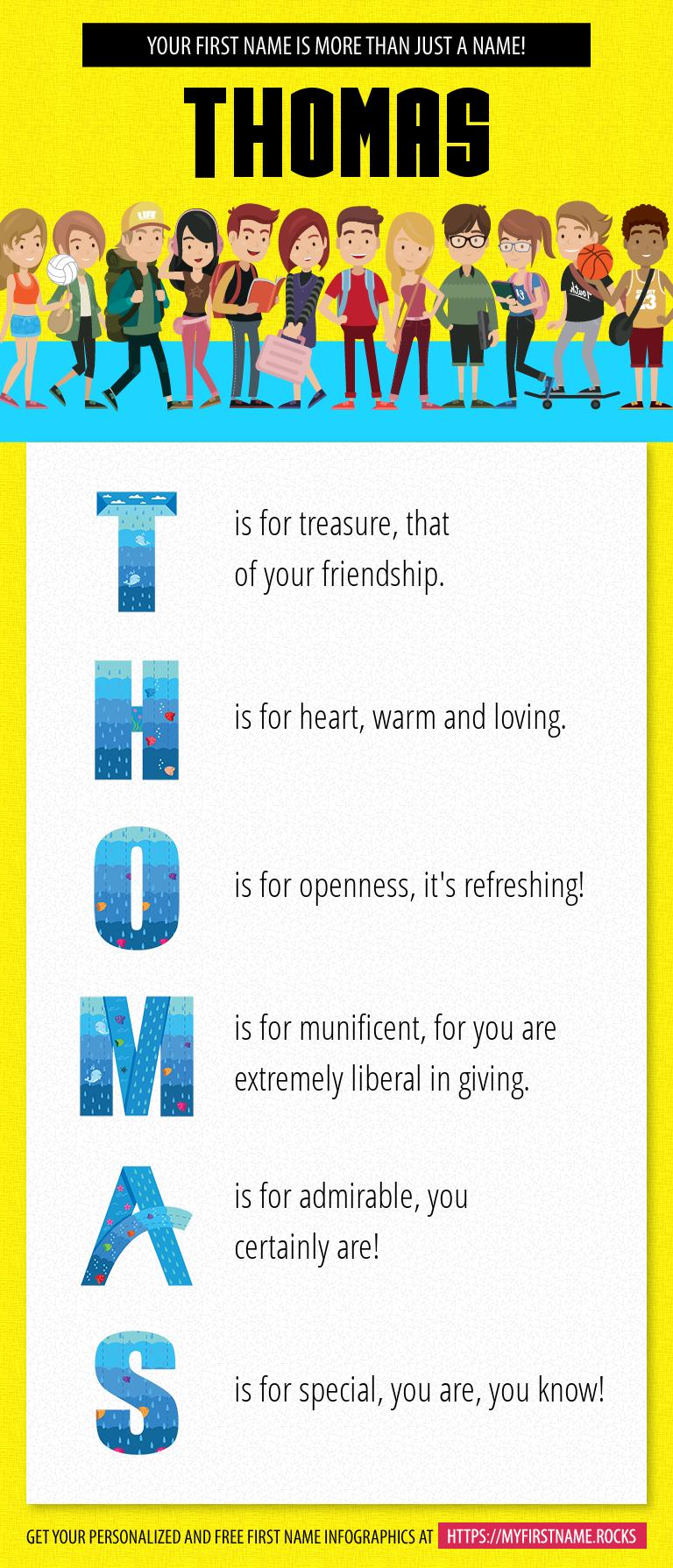 Thomas Infographics