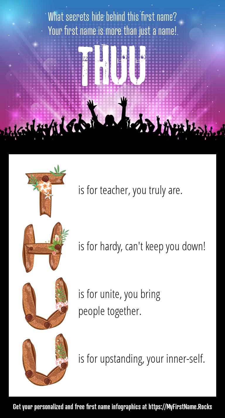 Thuu Infographics