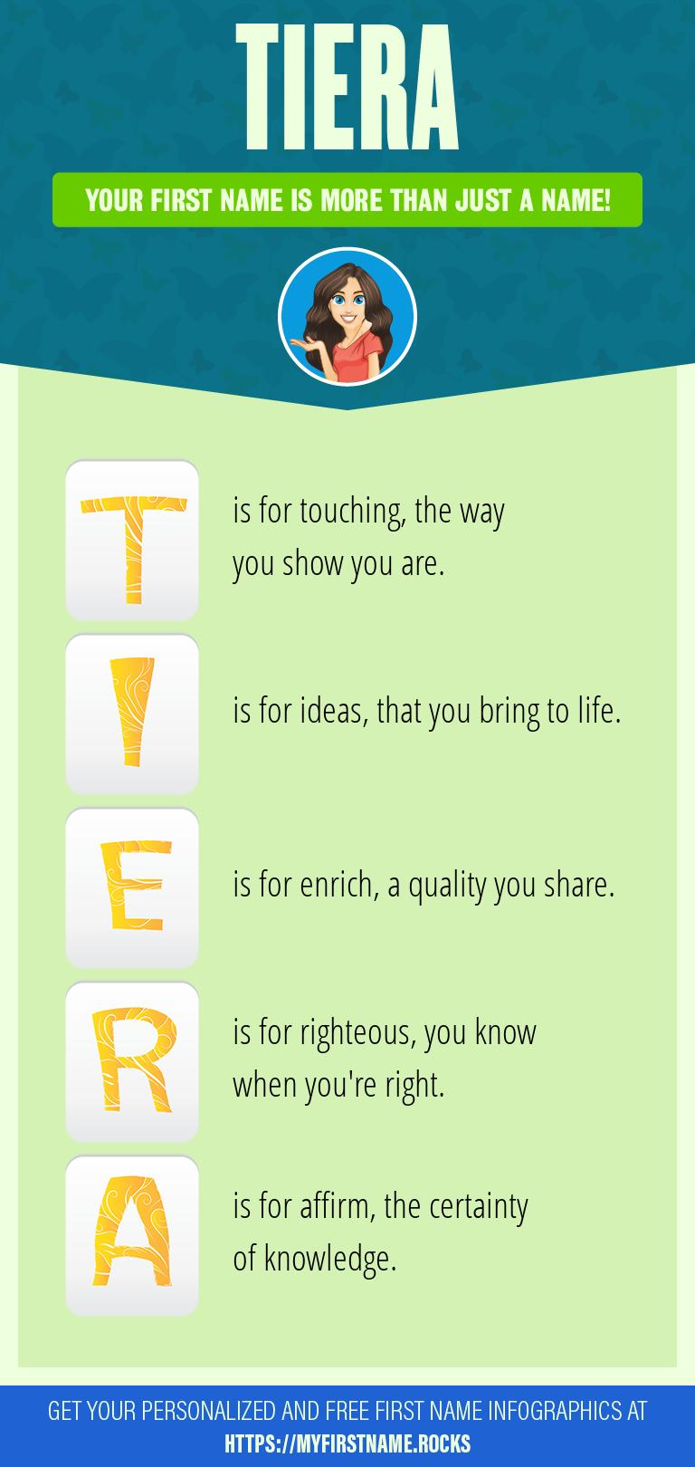Tiera Infographics
