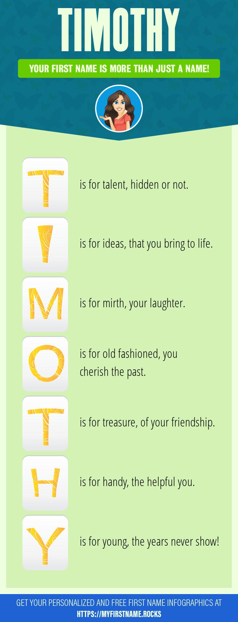 Timothy Infographics