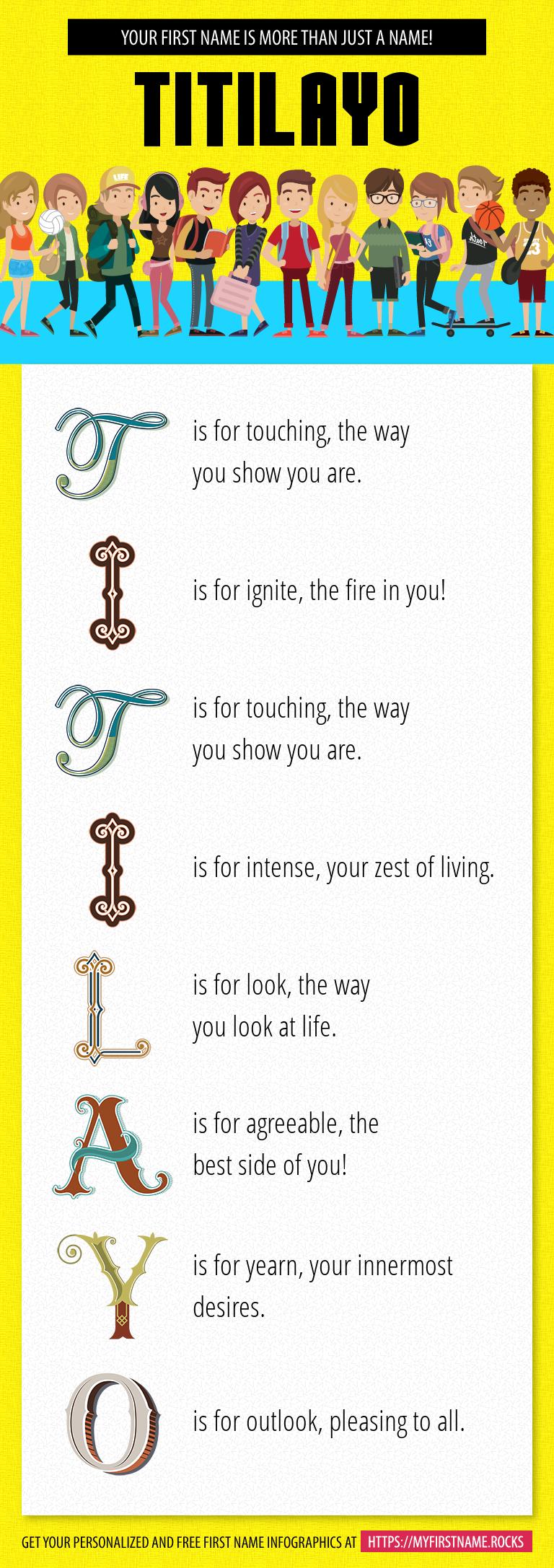 Titilayo Infographics
