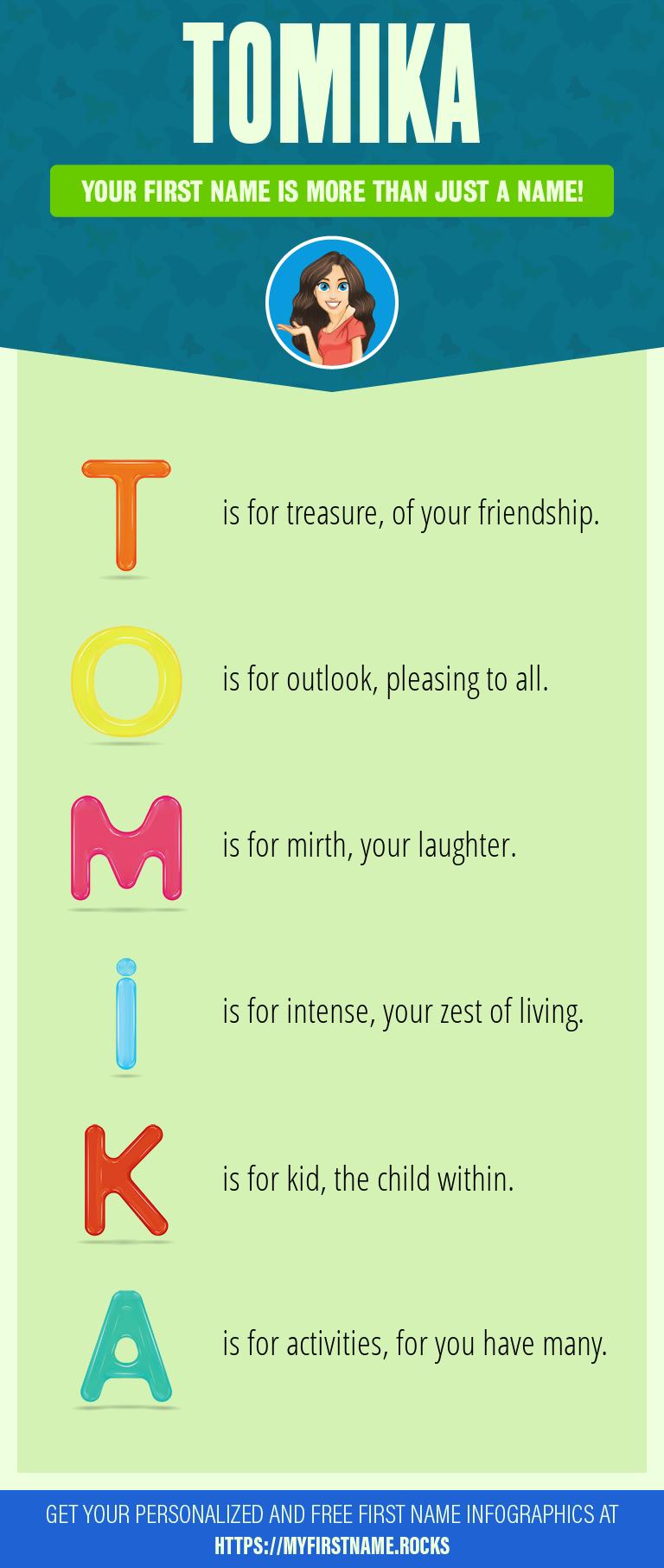Tomika Infographics