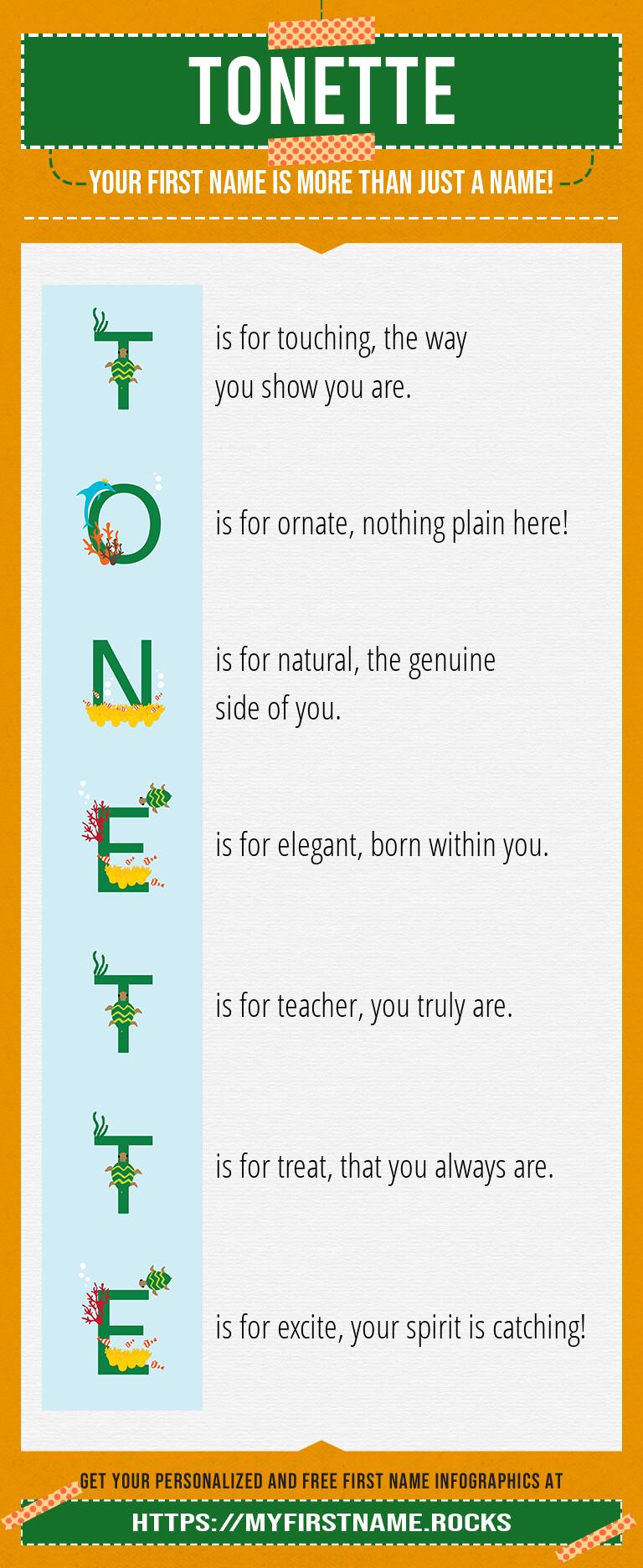 Tonette Infographics