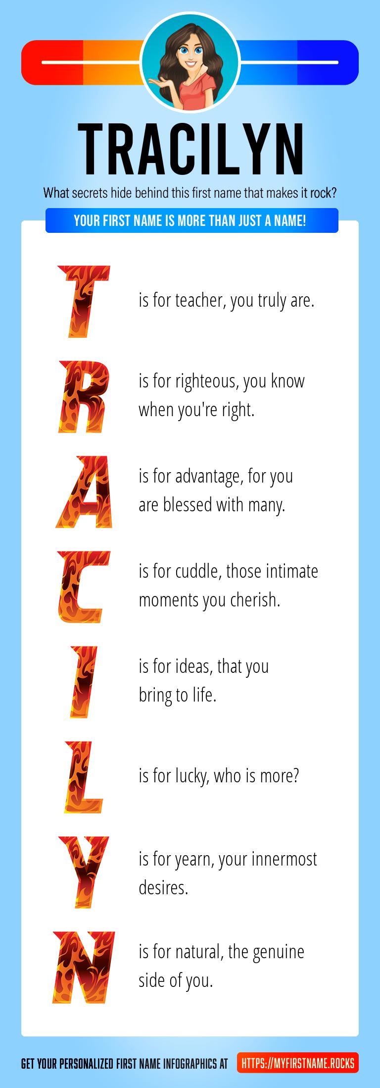 Tracilyn Infographics