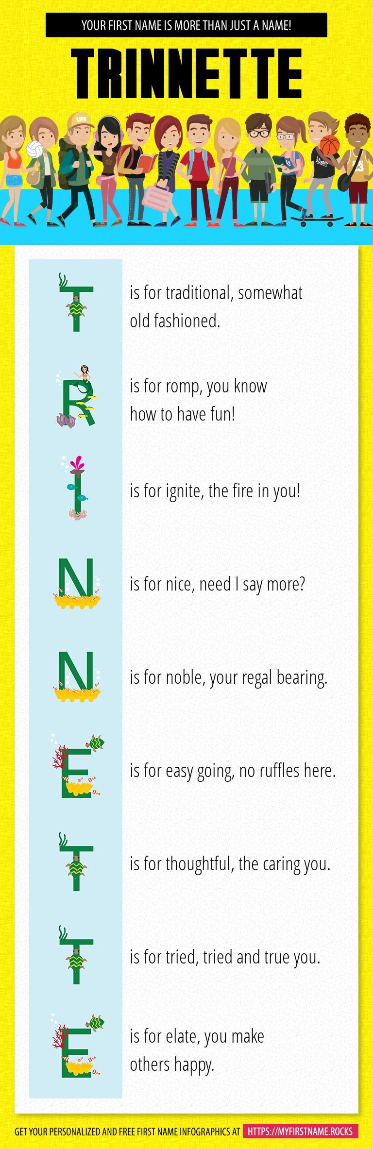 Trinnette Infographics