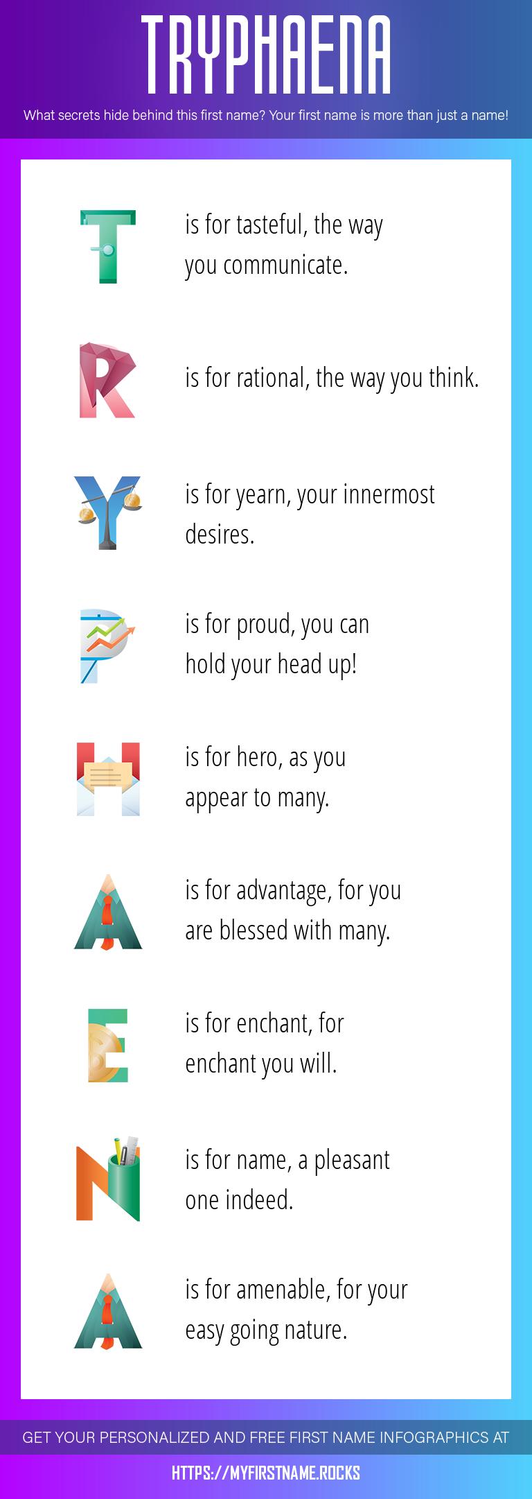 Tryphaena Infographics