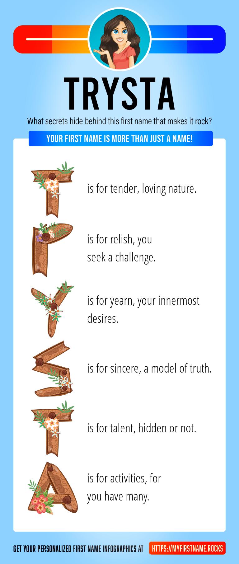 Trysta Infographics