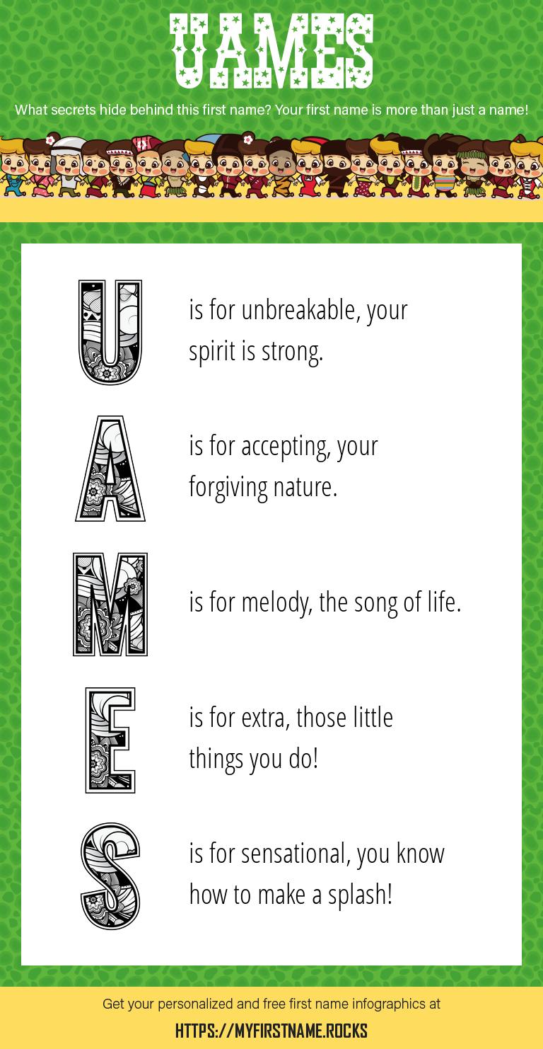Uames Infographics