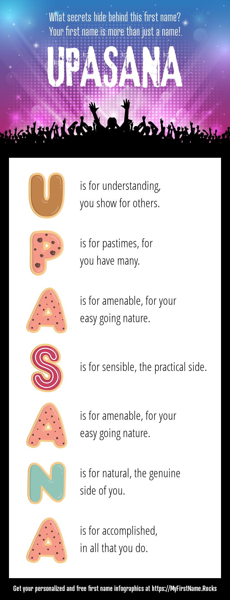 Upasana Infographics