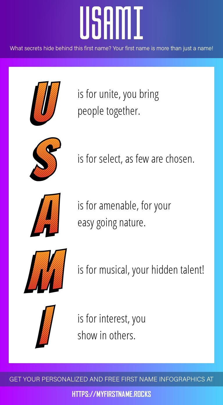 Usami Infographics