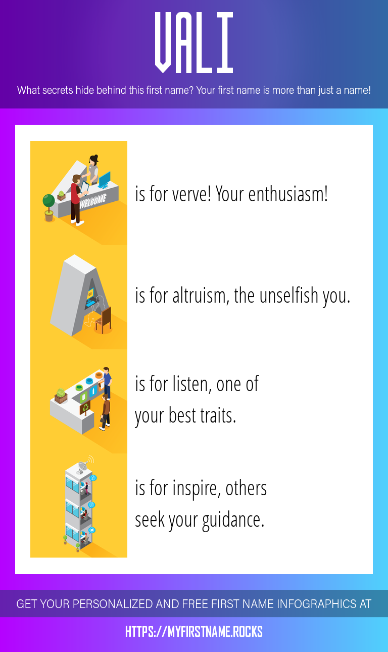 Vali Infographics