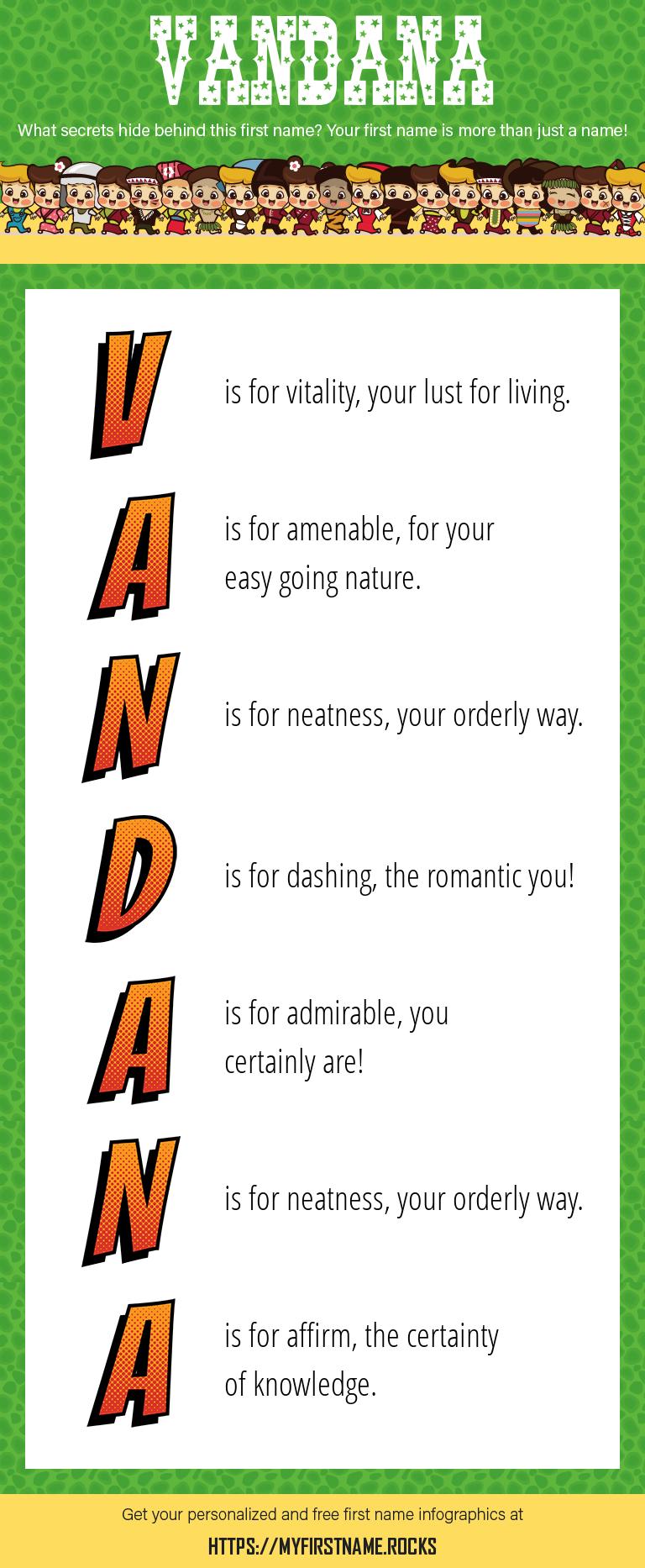 Vandana Infographics