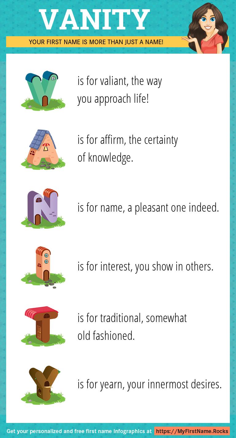 Vanity Infographics