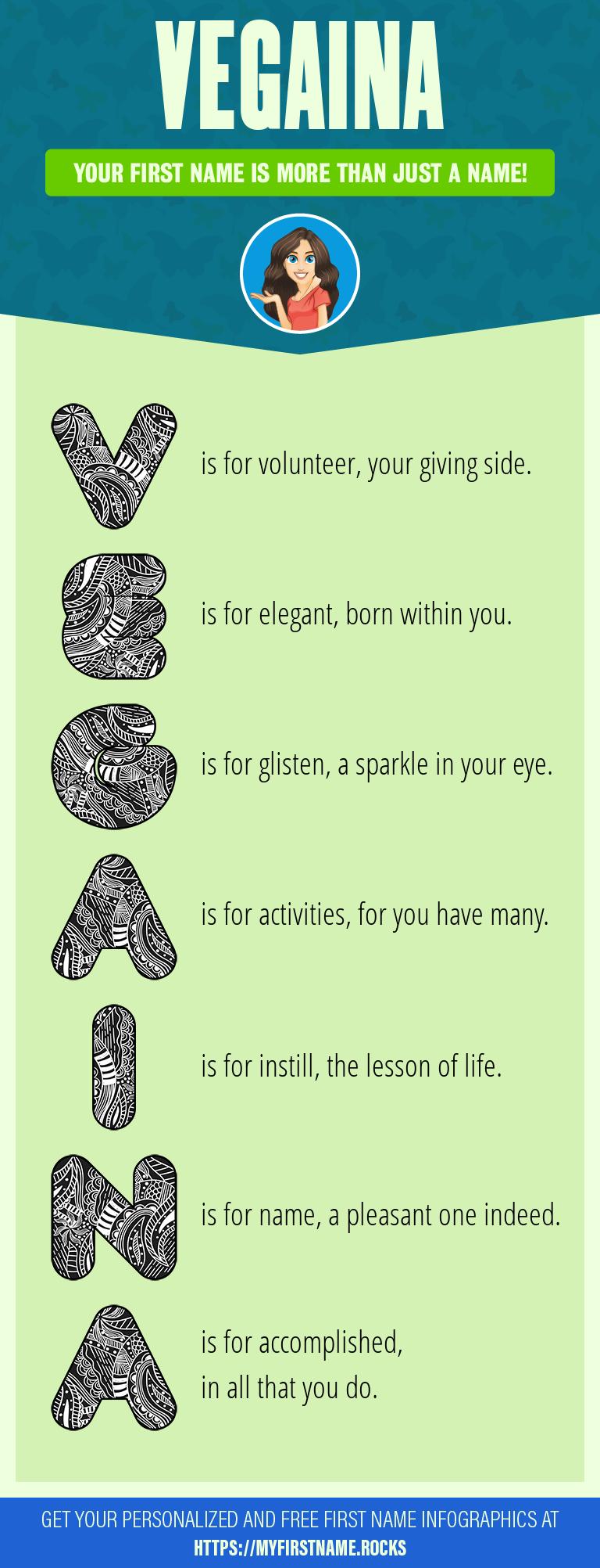 Vegaina Infographics