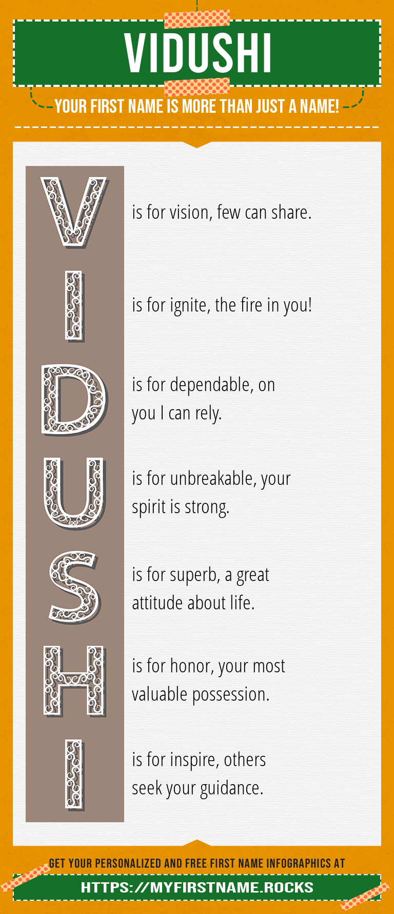 Vidushi Infographics