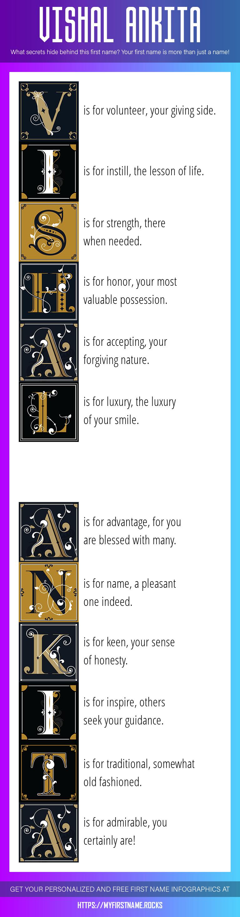Vishal Ankita Infographics