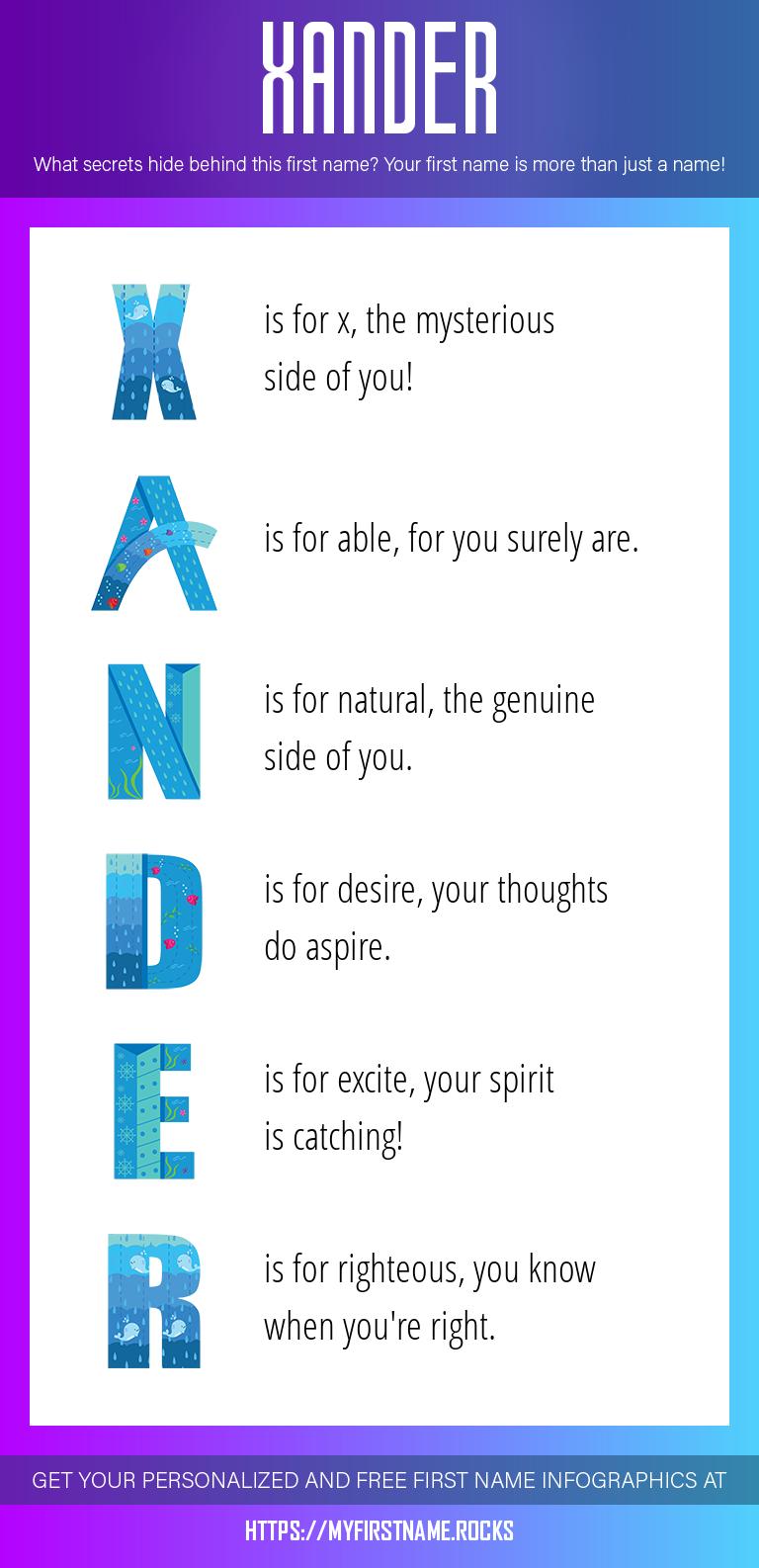 Xander Infographics