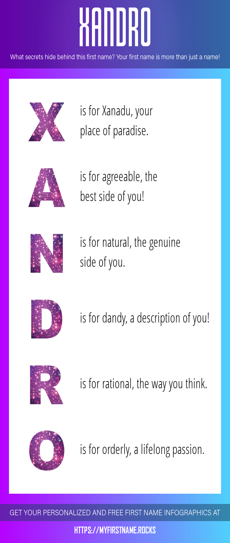 Xandro Infographics