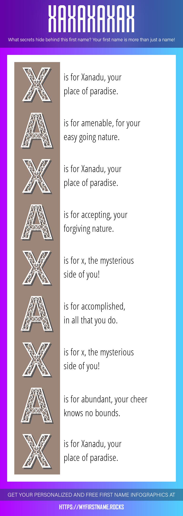 Xaxaxaxax Infographics