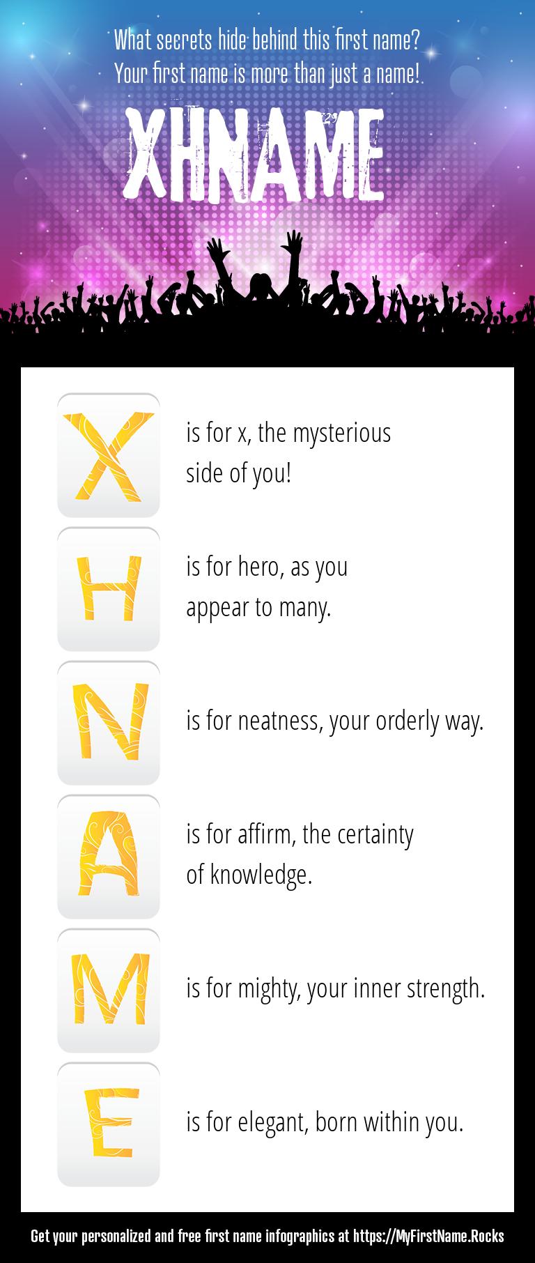 Xhname Infographics
