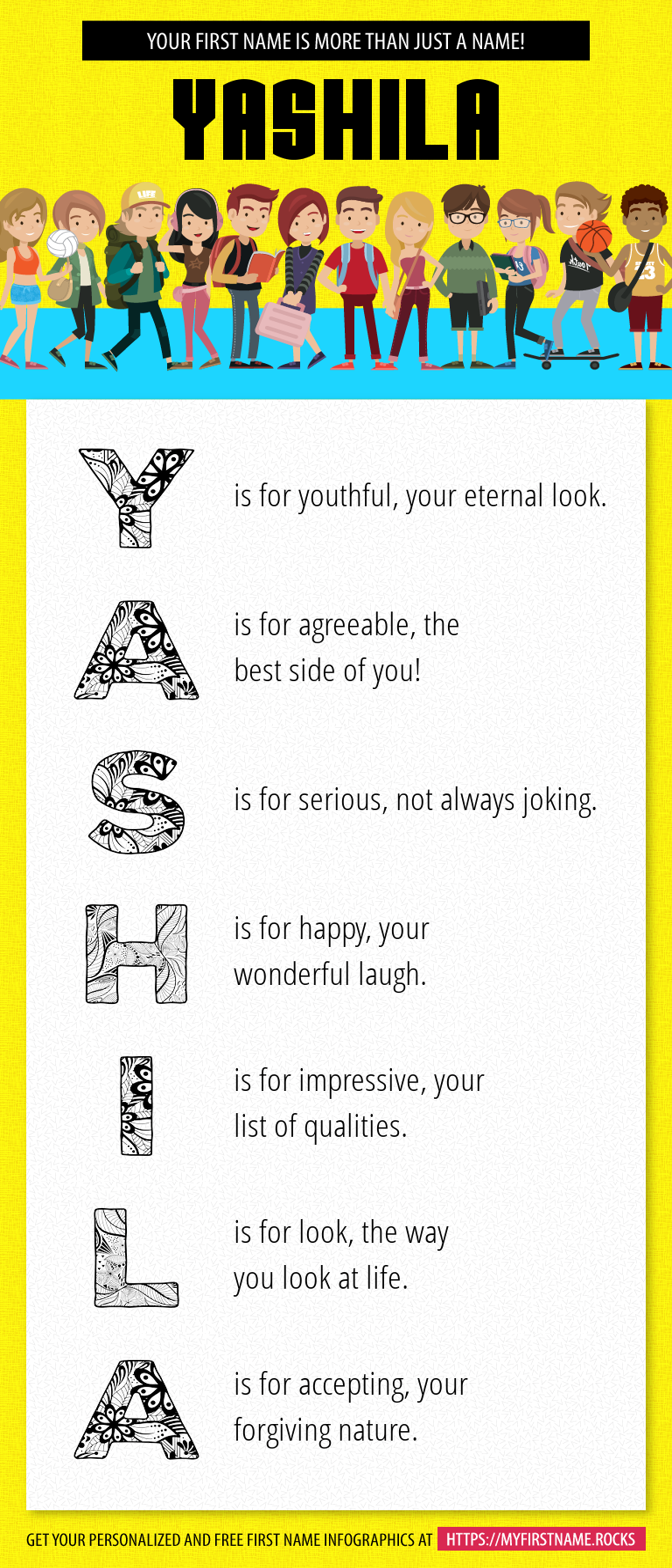 Yashila Infographics