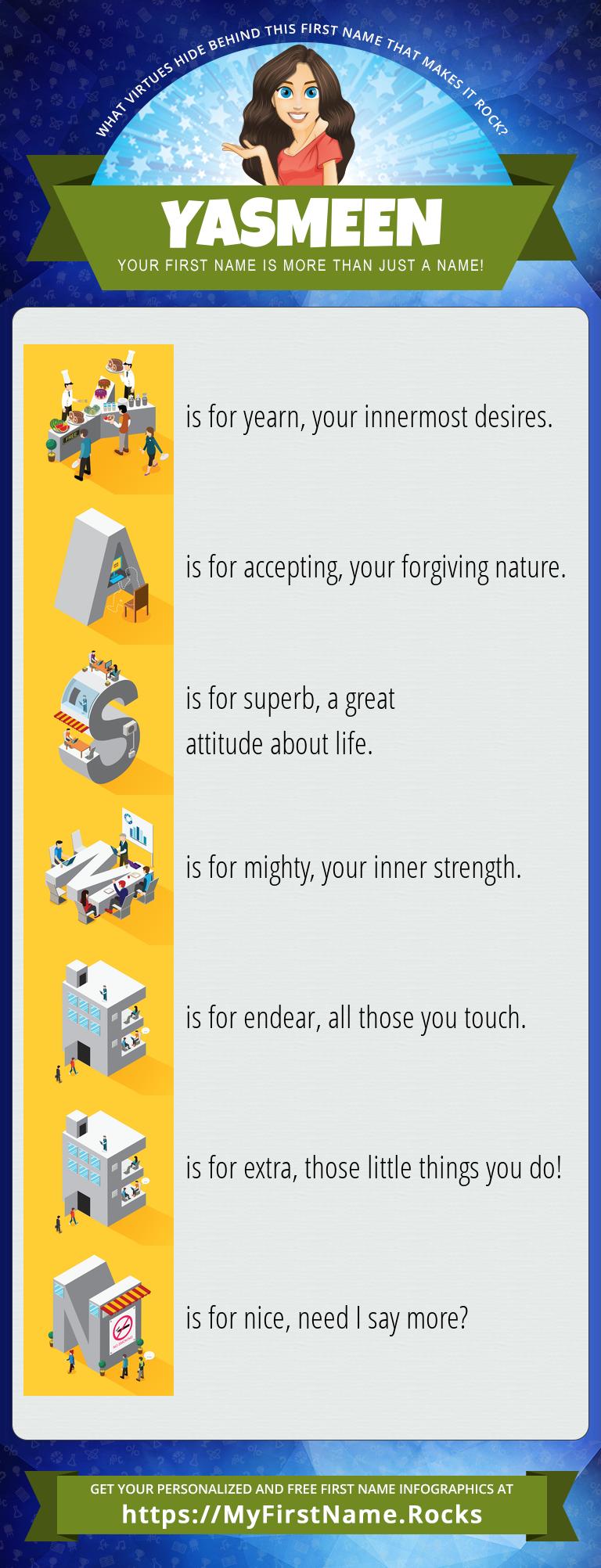 Yasmeen Infographics