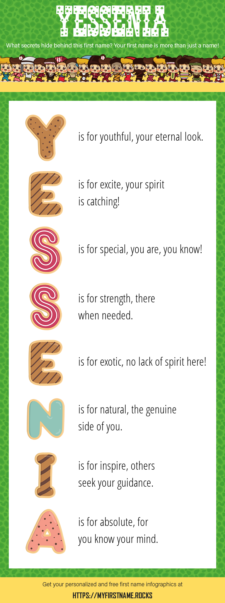 Yessenia Infographics