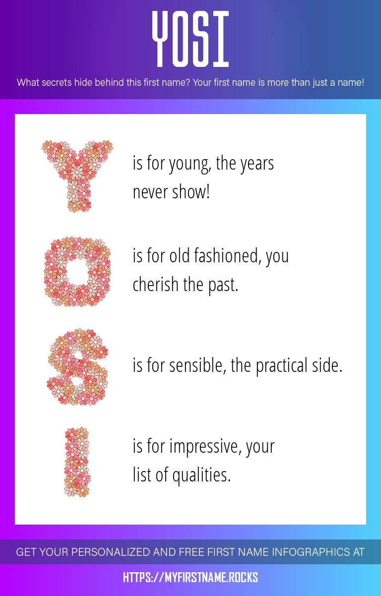 Yosi Infographics
